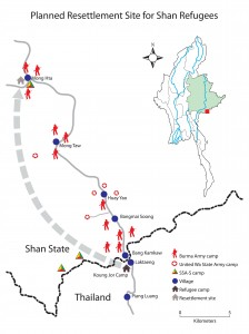 Planned Resettlement Sites in Shan State