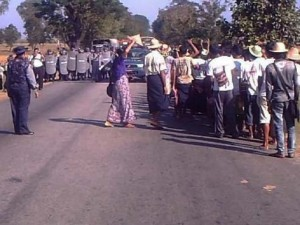 Miners Marching to Naypyidaw © DVB