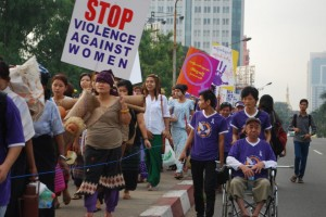 VAW Day in Rangoon