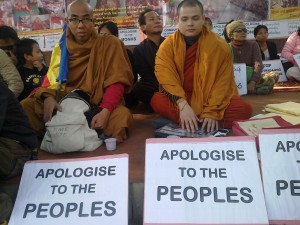 Burmese sit-in-protest-photo-show 17-Dec-2012----