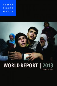 Cover HRW World Report 2013