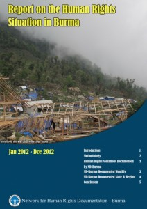 ND-Burma Report Cover