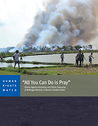 HRW All You Can Do is Pray Cover April 2013