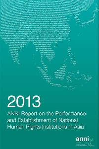 ANNI Report 2013 Cover