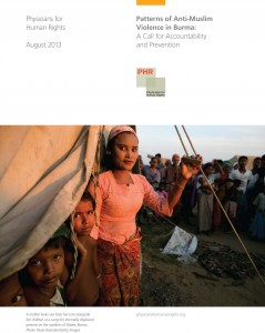 Burma-Violence-Report-August-2013 Cover