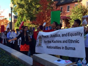 Nov 1 protest VIIII by Kachin Alliance