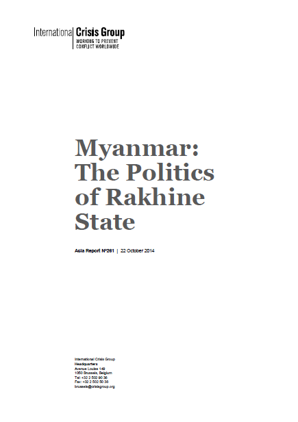 The Politics of Rakhine State