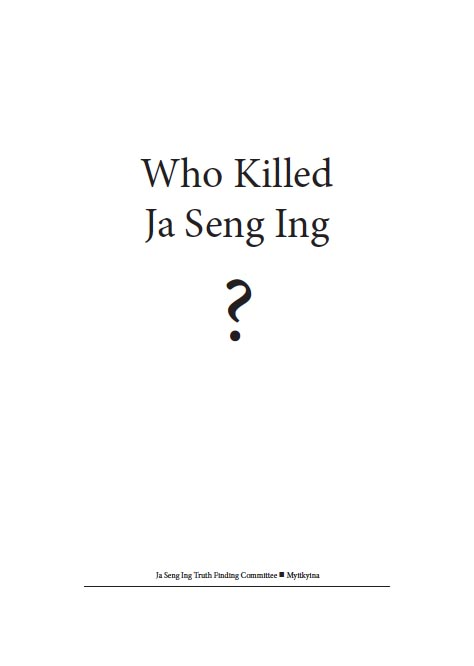 who killed ja seng ing