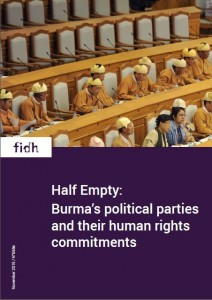 Half empty report by FIDH