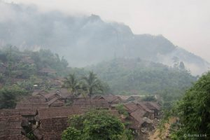 Mae La refugee camp along the Thailand-Burma border