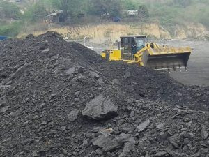 08-02-2016 Coal mining site in Nam Ma area